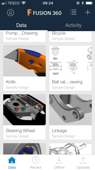 A Selection of CAD Models my students can view and explore